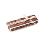 Torrone With Chocolate And Almonds