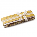 Chocholate Torrone With Orange And Pistachios